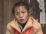 Wu Bangju (pictured) looks after her elderly grandmother and two young siblings in rural China