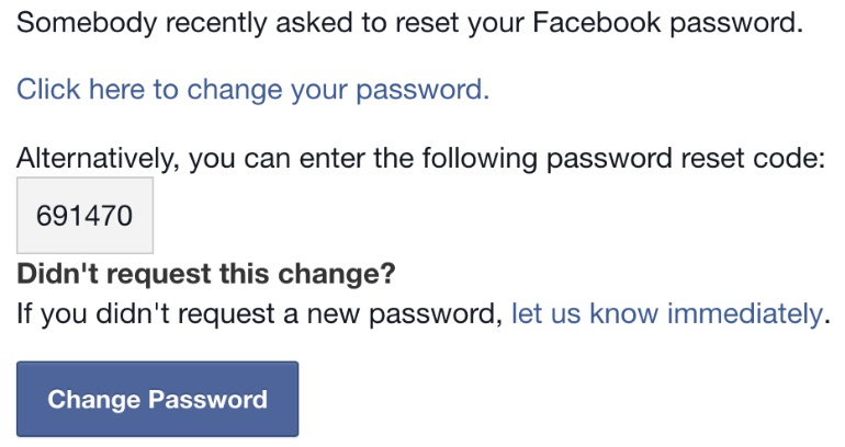 how to find out your email and password for facebook