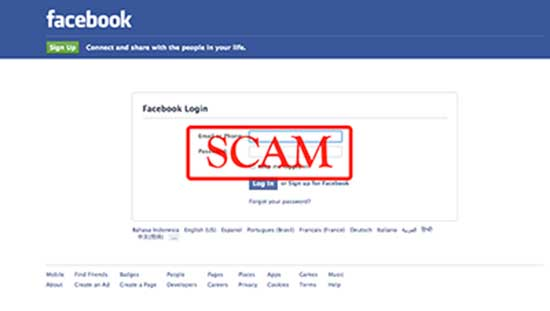 Latest Facebook Phishing Scam Steals Login Data Using
