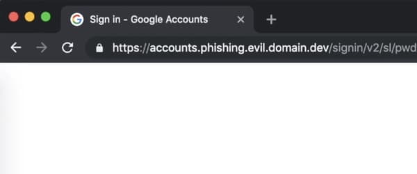 Phishing domain