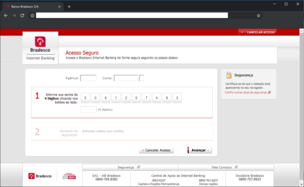 Bank Phishing Campaign in Brazil