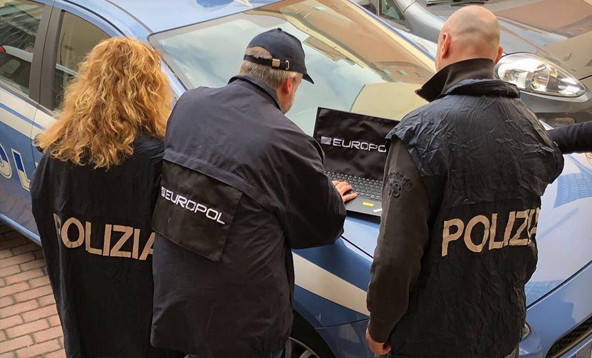 Police Bust 20 Phishing Suspects in Italy, Romania